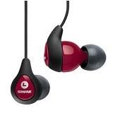 SHURE Sound Isolating Earphone [SE115] - Red - Earphone Ear Monitor / IEM